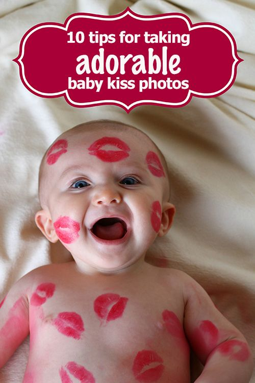 10 tips for taking adorable baby kiss photos #photography #valentines #baby #kiss #kisses