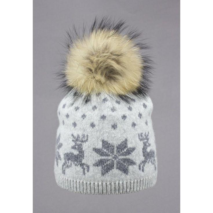 Steffner Nordic Womens Ski Hat In Light Grey