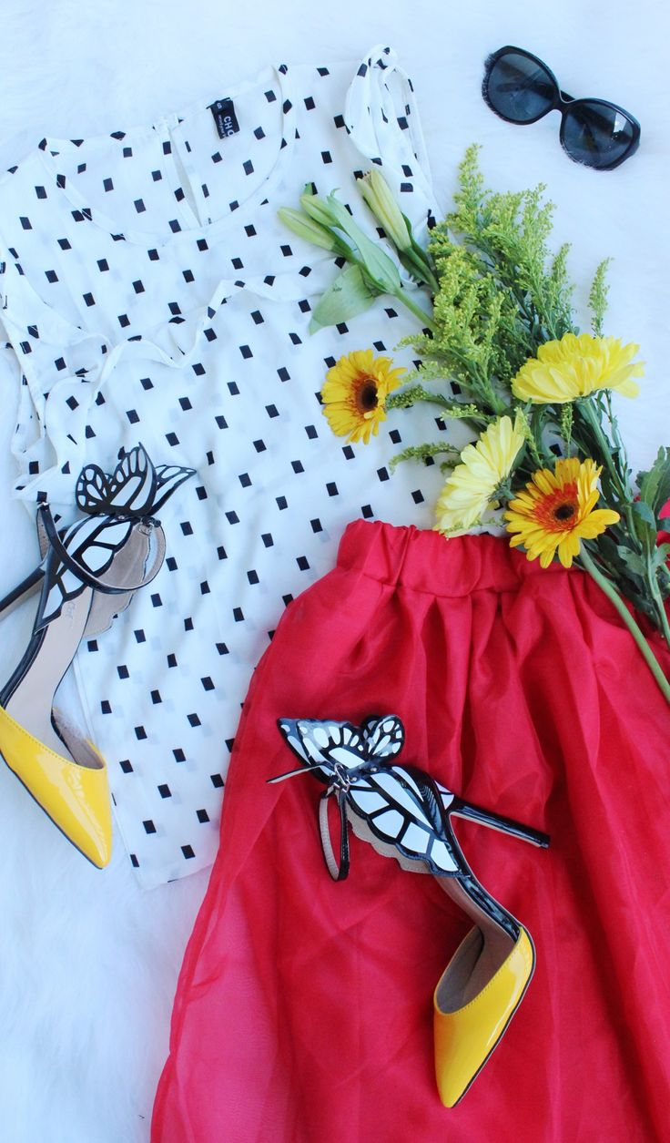 Love styling these butterfly shoes with fun tops and skirts from Choies.