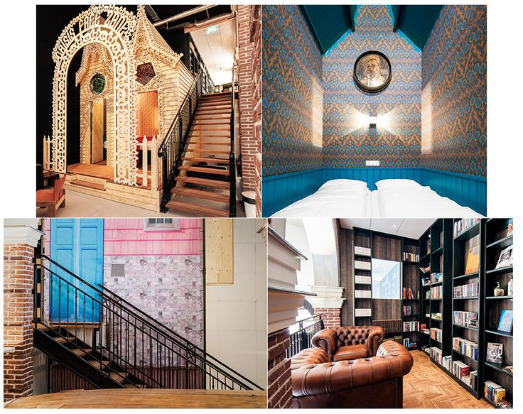 For a quirky weekend: Hotel Not Hotel, Amsterdam