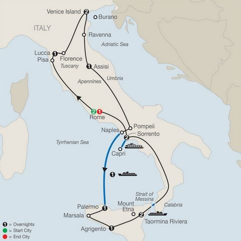 Italy and Sicily Tours Package| Tour Italian UNESCO Sites
