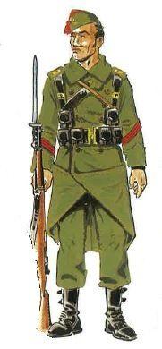 Legion Espanola -  Cabo con Capote. Pin by Paolo Marzioli