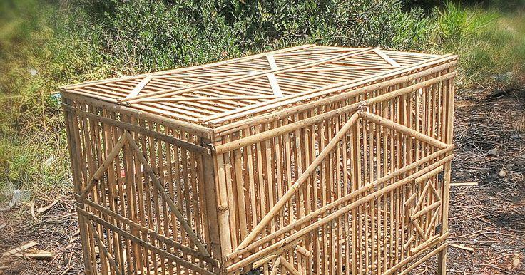 Jual kandang ayam bambu semarang.