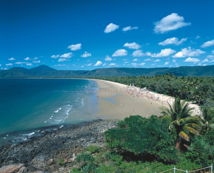 Four Mile Beach, Port Douglas - Bliss! #beach #summer #tropicalnorth
