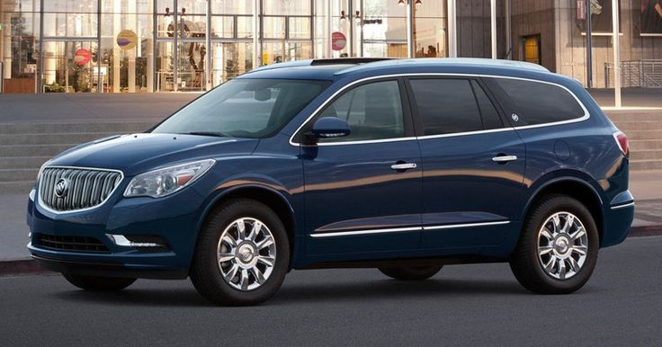 New-Gen Buick Enclave Crawling To NY Auto Show #Buick #Buick_Enclave