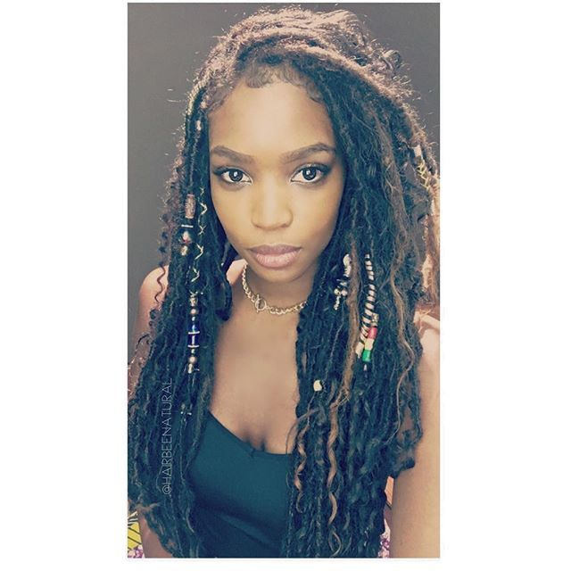 mermaidlocs our newest summer loc style human hair was used locs were individually hand. Black Bedroom Furniture Sets. Home Design Ideas