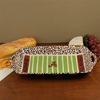 Alabama Football Field Tray -- totally going to DIY this for an OSU Football Field tray!
