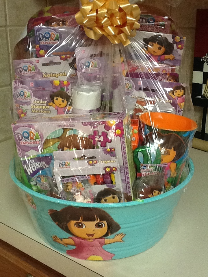 16 best kiya easter baskets ideas images by lena gore on pinterest dora easter basket negle Gallery