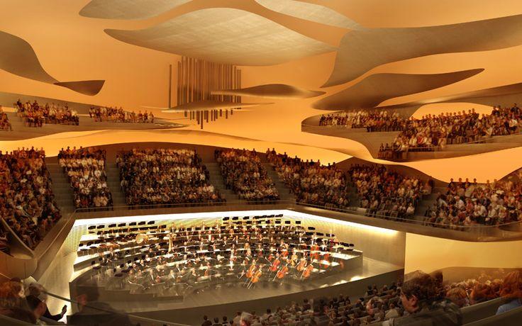 Métra + associés - Salle de concert de la philharmonie de Paris