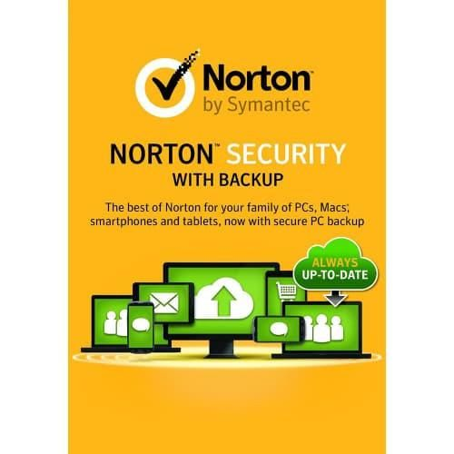 Norton Security Premium with Backup - 1-Year / 10-Device - North America -. Brand:SymantecManufacturer Part #: 21331601Availability: In StockMedia Type: DownloadPlatform: Windows XP, Windows Vista, Windows 7, Windows 8/8.1, Windows 10, Mac OS X 10.10, Mac OS X 10.11, Mac OS X 10.12, Android 2.3+, iOS 6+  The New Norton Security with Backup replaces Norton 360.  Introducing Norton Security (Includes 25 GB of Backup) Rest easy with rock-solid Norton protection for all of your devices The PC…