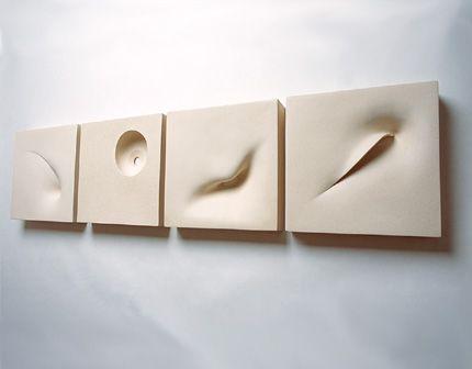 Mari-Ruth Oda, wall sculpture