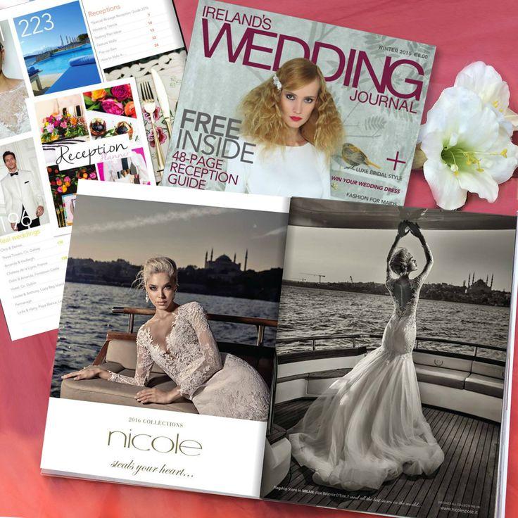 Irish brides love Nicole... Thank you Ireland's Wedding Journal!