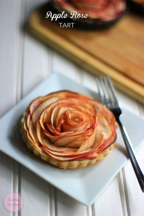 Apple Rose Tart | Be What We Love #apple #thanksgiving #applepie