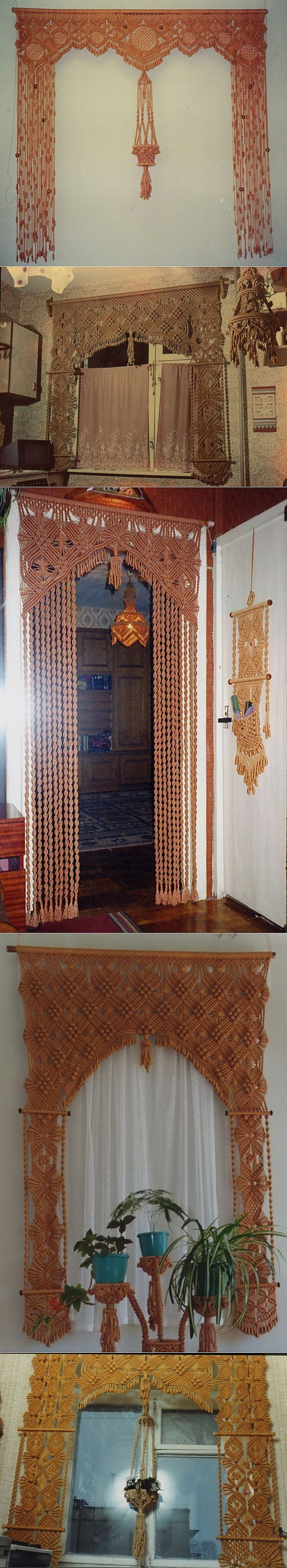Diy Curtain Wall 102 Best Macrame Curtaines Images On Pinterest Macrame Wall
