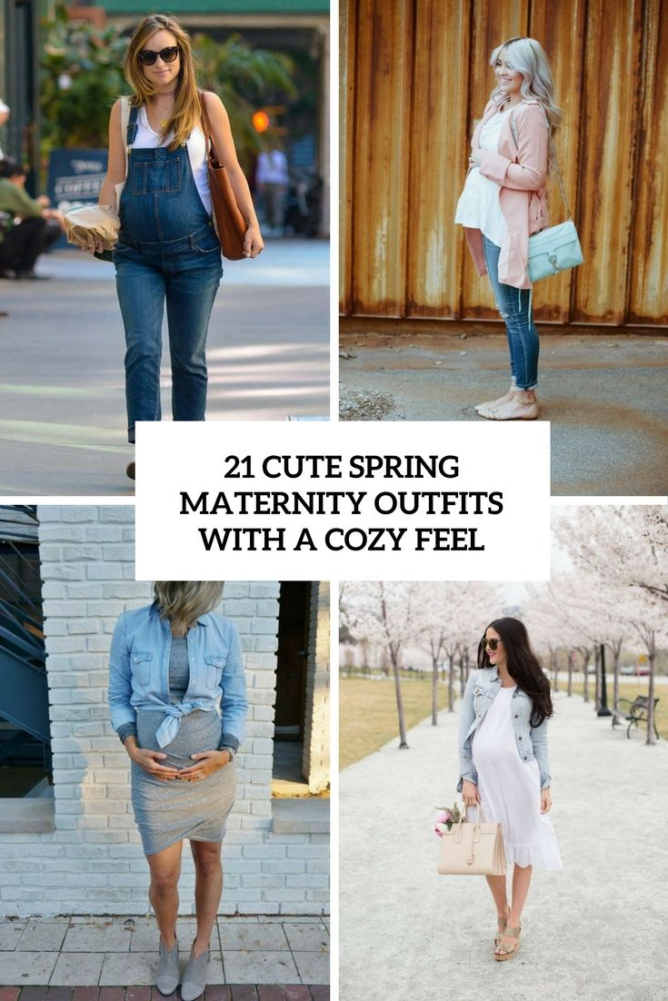 7b28a8918 I have some ideas for you then! today I'm sharing sweet pregnancy outfits  for the spring, they not only look stylish but also will make you feel cozy  ...