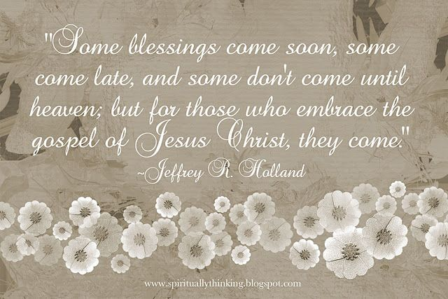 Blessings: Inspiration, God, Faith, Jesus Christ, Spiritually Speaking, Thought, Favorite Quotes