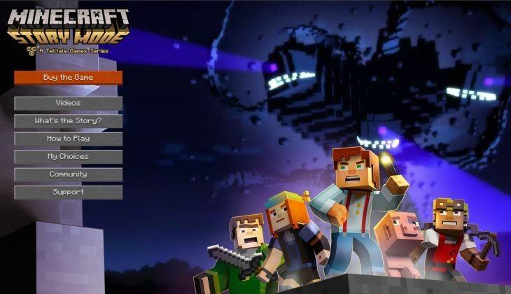 ONE: Ya esta disponible el primer episodio de nuevo juego Minecraft: Story Mode