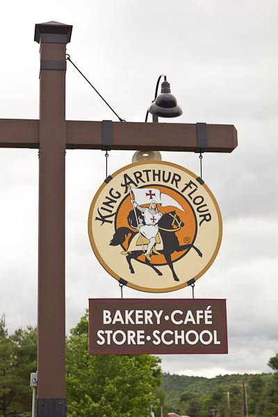 Baking with King Arthur Flour. I really want to go to this school.