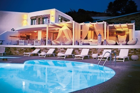Enjoy the swimming pools of Levantes Boutique Hotel... #summer #summer_love #ios #ios_island  #greece