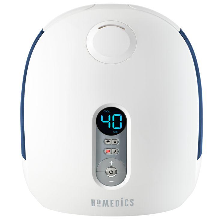 HoMedics Warm and Cool Mist DualTank Ultrasonic