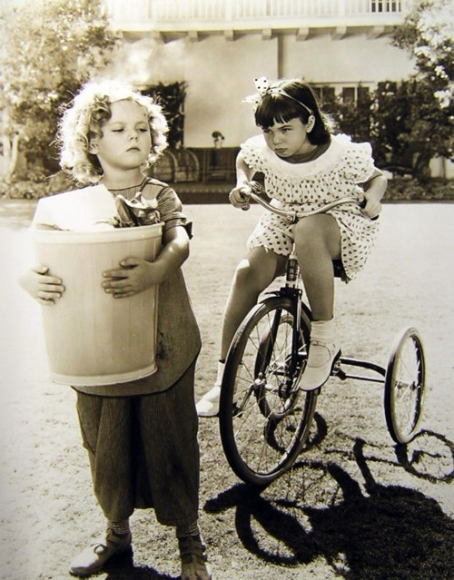 Shirley Temple, Jane Withers, 1930s Bright Eyes , My fav Shirley Temple Movie <3