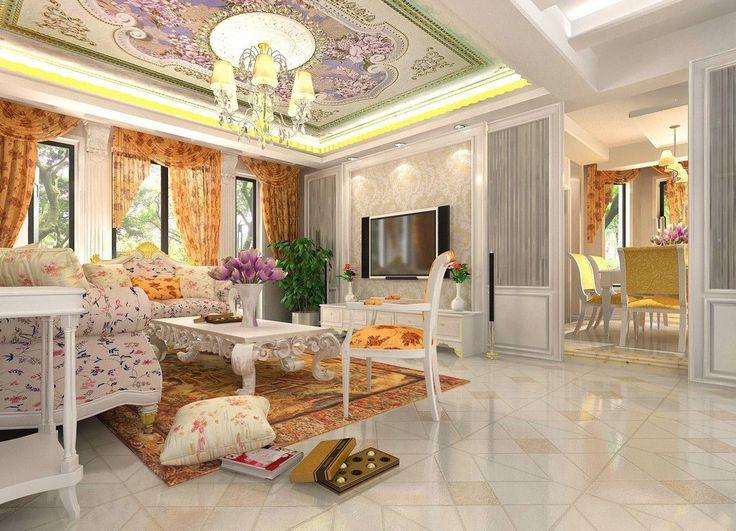 Luxury design rooms