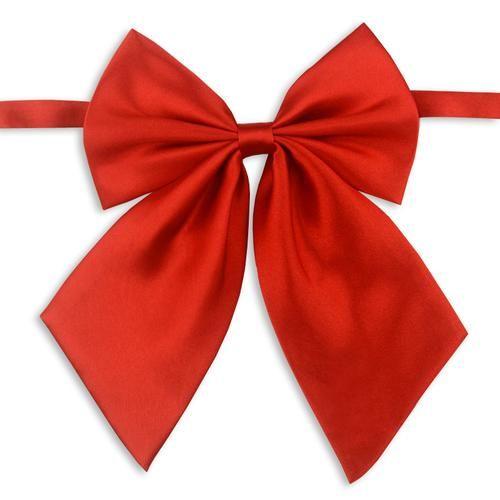 1Piece Gravatas Laço das mulheres vermelhas da borboleta Laço das mulheres vermelhas da borboleta Gravata