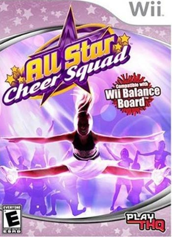 For the #Wii All-Star Cheer Squad game! I want this soon bad!!