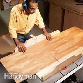 Build a Table Saw Sled | The Family Handyman