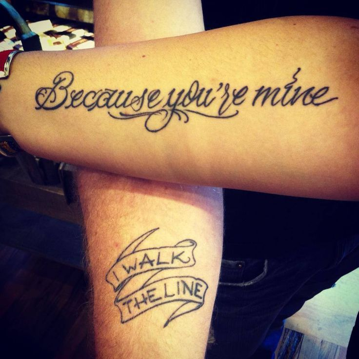 CLICK for more: Best and Worst Music Tattoos #johnnycash #tattoo