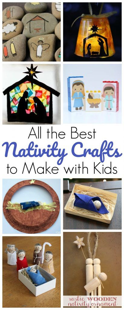 The Best Nativity Crafts for Kids to Make