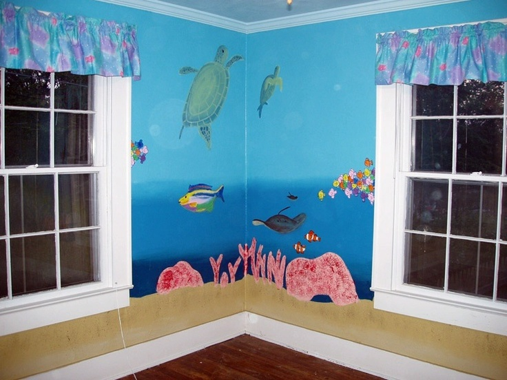 17 Best Images About Under The Sea Murals On Pinterest
