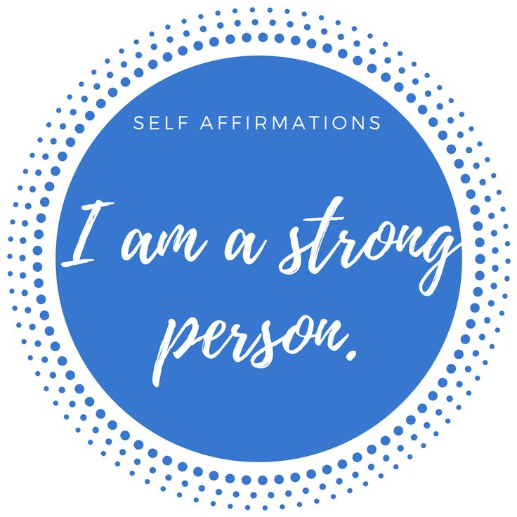 Look internally for sources of self-esteem rather than depending on others to define you. Repeat positive self affirmations daily, by saying them aloud or writing them out, to focus on positive messages about yourself.