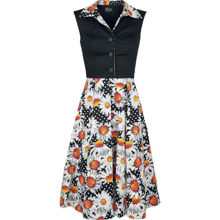 """Abito """"Sand Dune Sunflower Swing Dress"""" del brand #H&RLondon."""