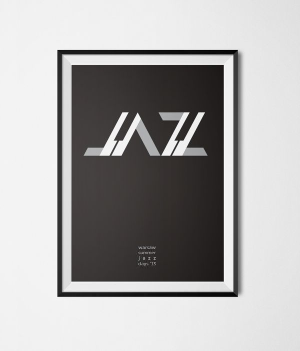Posters - jazz / culture by kamila figura, via Behance