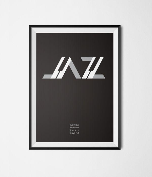Posters - jazz / culture by kamila figura, via Behance