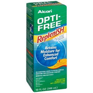 #new #OPTI-FREE #REPLENISH MULTI-SOLU 10OZ ALCON LABORATORIES INC