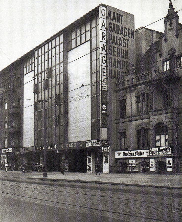 Berlin-Charlottenburg 1929/1930 Kant Garagen