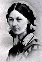 Florence Nightengale.  The founder of modern nursing.