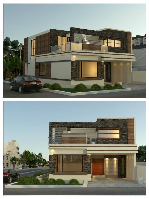 The 25 Best Front Elevation Designs Ideas On Pinterest: Beautiful Front Elevation Idea Of Home By Team AAA