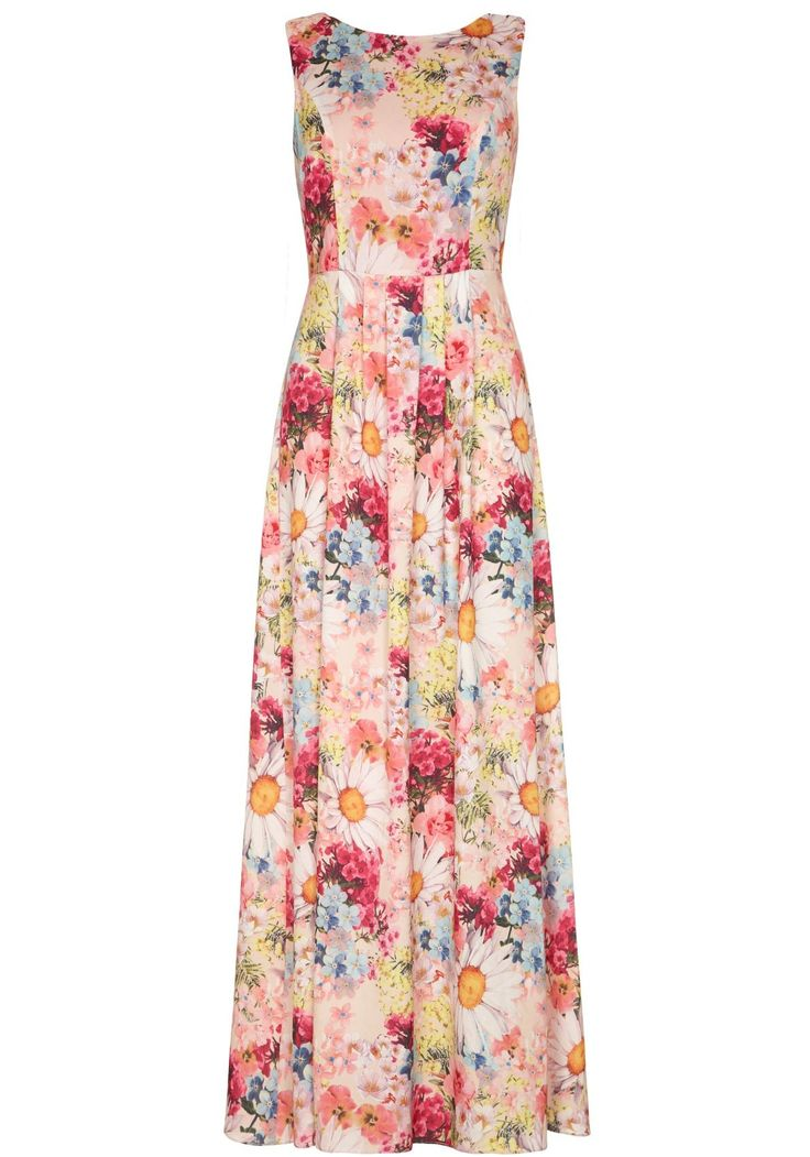 Floral Bouquet Maxi Dress