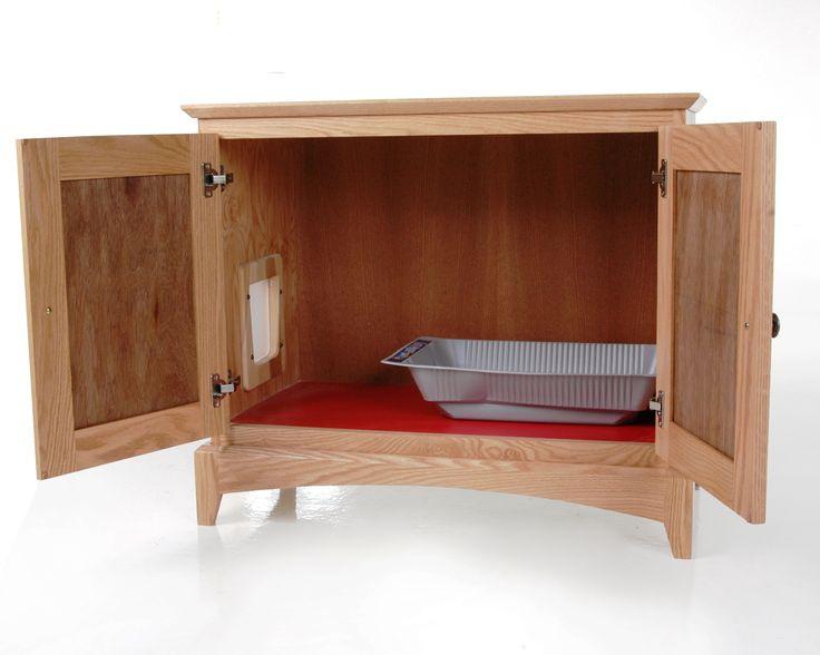 Cat Cabinet For Litter Box