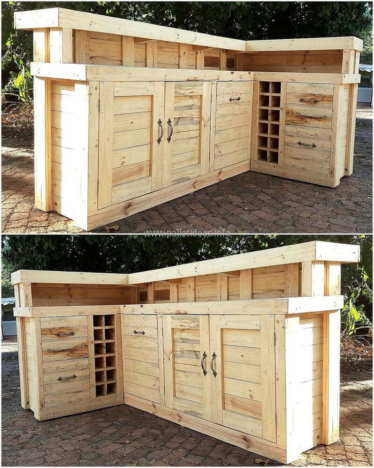 Best 25 pallet bar plans ideas on pinterest diy bar for Wooden bar design