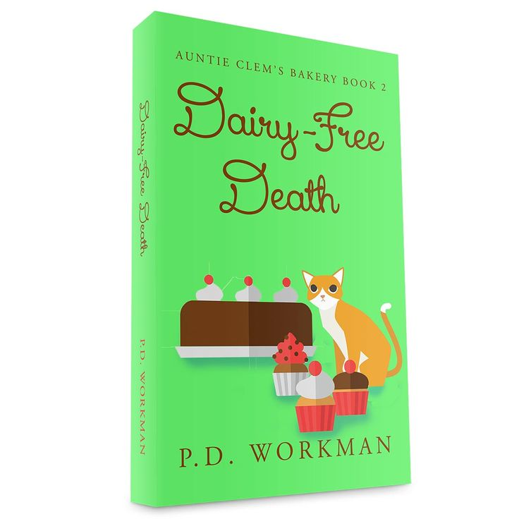 #Goodreads #Giveaway for Dairy-Free Death #cozy #mystery #gluten-free #dairy-free