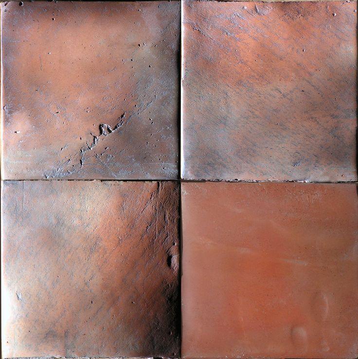 Terracotta: hand-formed tiles http://www.luxform.pl/kafle-glazurowane-i-terakota.html