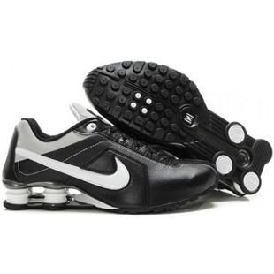 438684 005 Nike Shox Conundrum Black White J02017