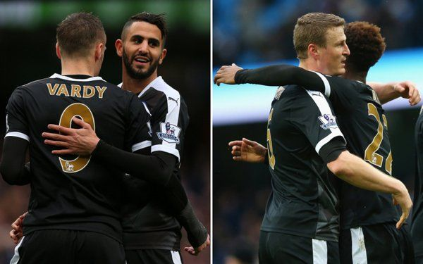 Leicesters Riyad Mahrez left speechless after the Man City win [Instagram]