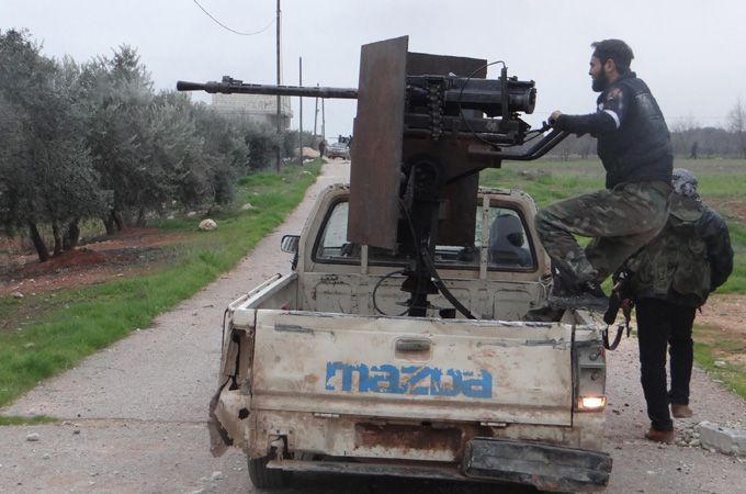 Friday, January 4, 2013 Syria: Fighting for control of Taftanaz military airport in Idlib province