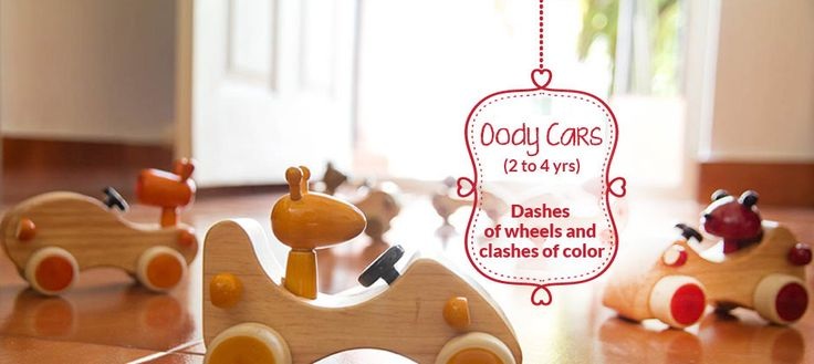 Cars made from Rubberwood for your kids