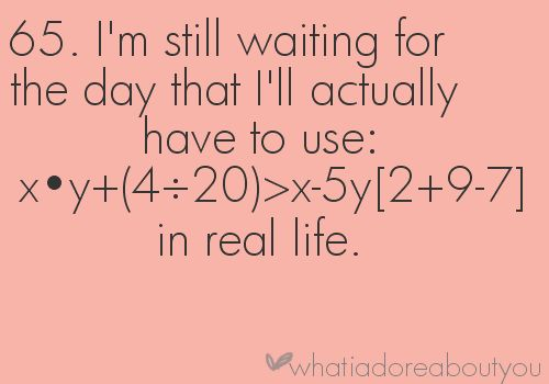 waiting... seriously.
